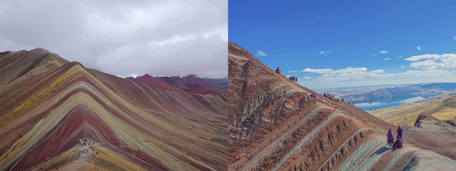 montaña de colores vs pallay punchu
