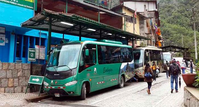 Bus - Consettur Aguas Calientes - Machu Picchu