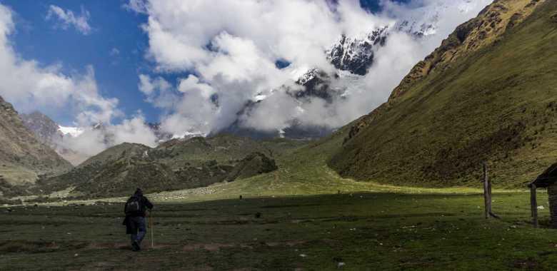 Acenso Abra Humantay - Cusco - Salkantay