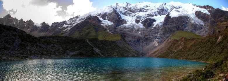 Vista panorámica de la Laguna Humatay