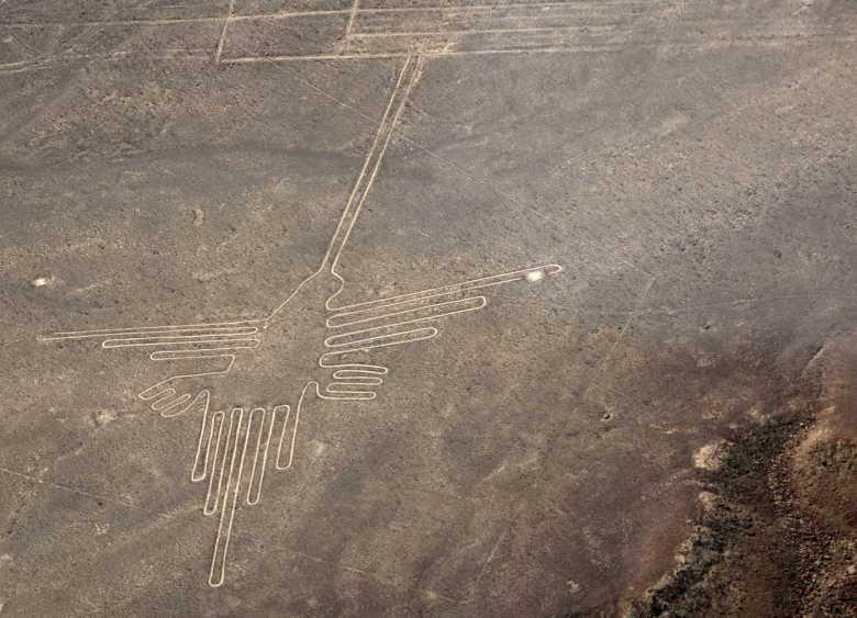 Lineas de Nazca - Colibrí
