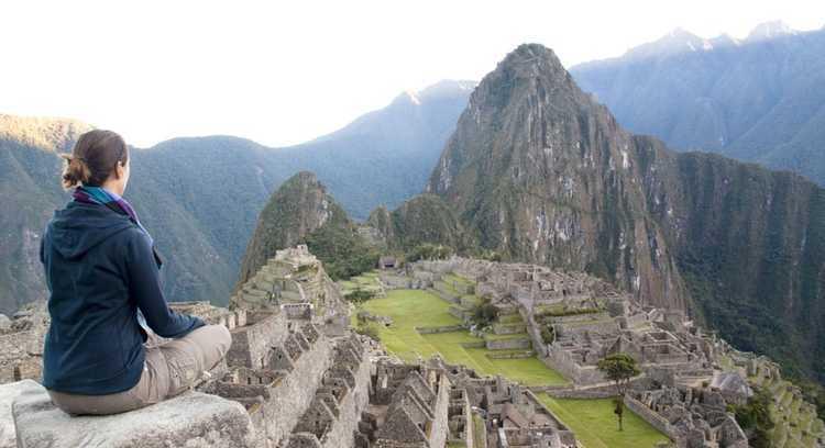 Sitio inca de Machu Picchu