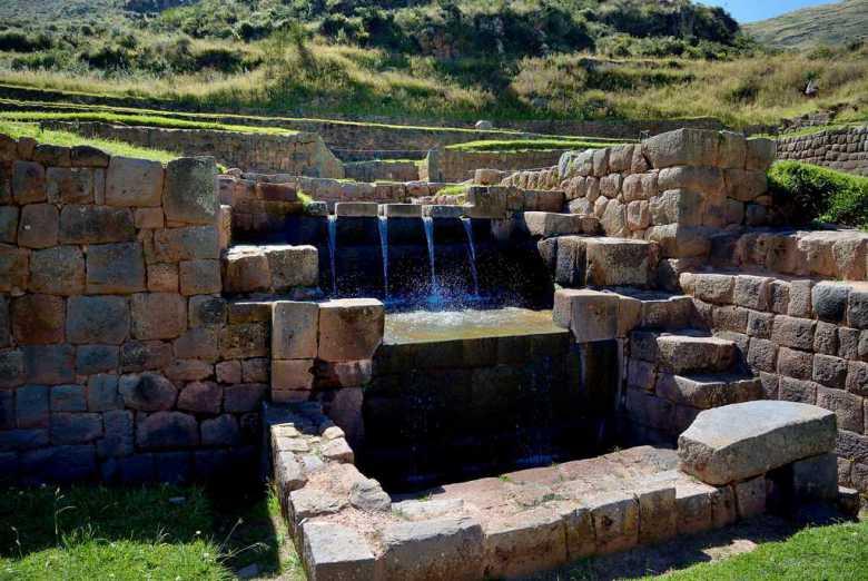 Ingenería Hidráulica de Tipón - Cusco - Valle Sur