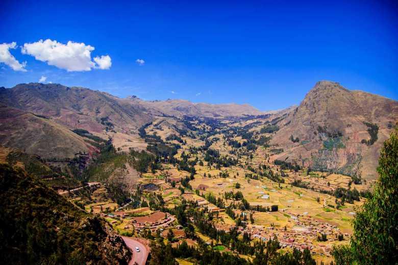 Paquete Valle Sagrado - Vista panorámica Valle Sagrado