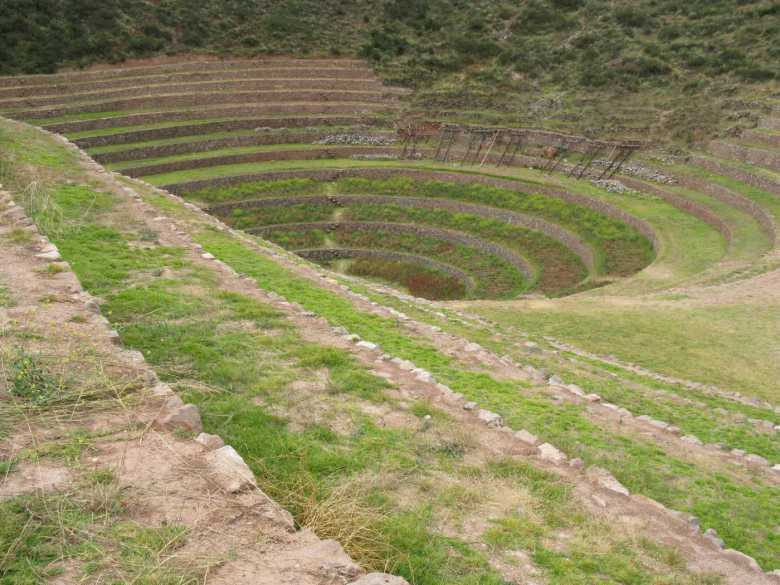 Agricultura Inca - Moray - Cusco Valle Sagrado