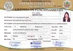 Licencia de funcionamiento de la Municipalidad del Cusco