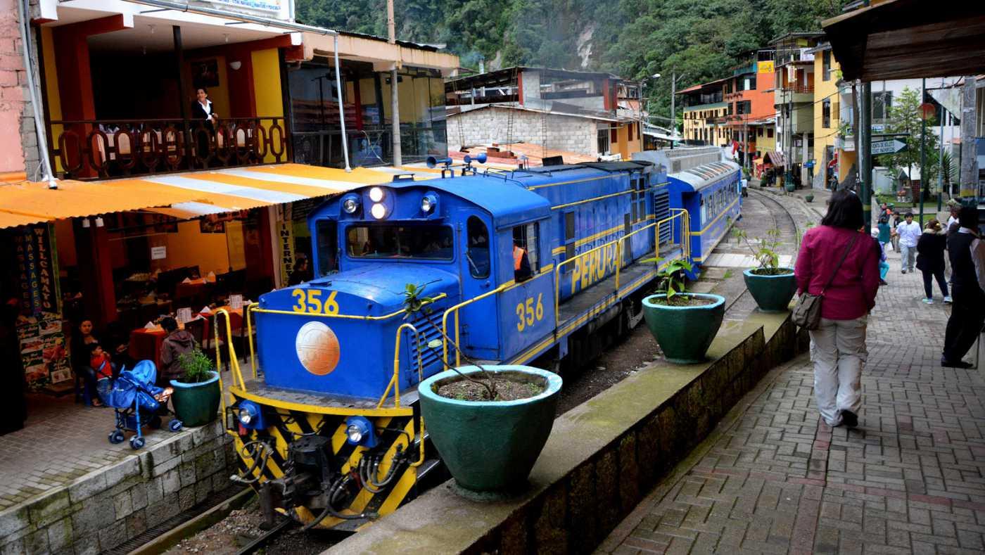 Tickets y trenes para Machu Picchu