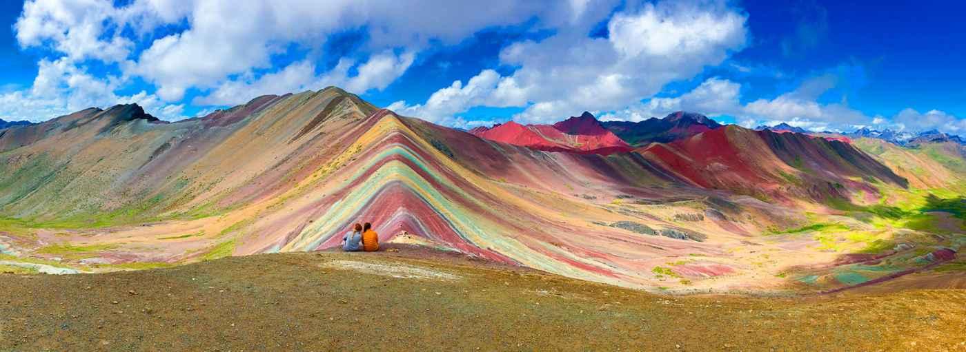 Cerro a la montaña de colores
